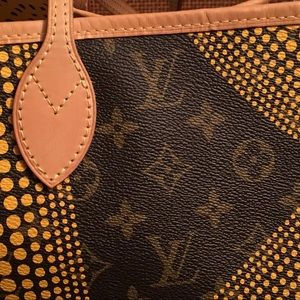40a8e45f4a52 Louis Vuitton Bags - Louis Vuitton Yayoi Kusama Neverfull MM Yellow